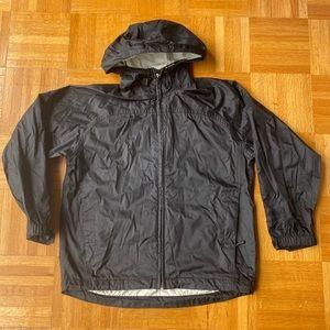 McKinley packable black waterproof jacket